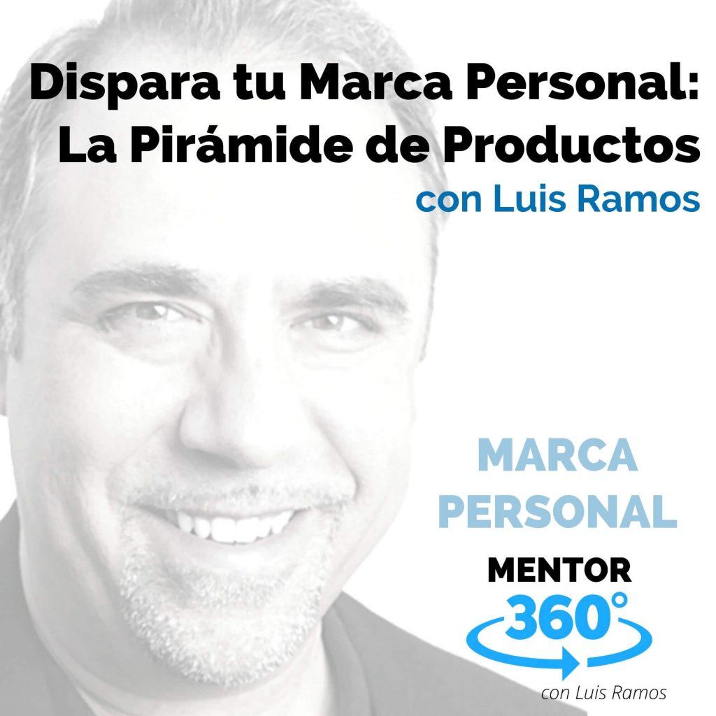 Dispara Tu Marca Personal 5: La Pirámide de Productos