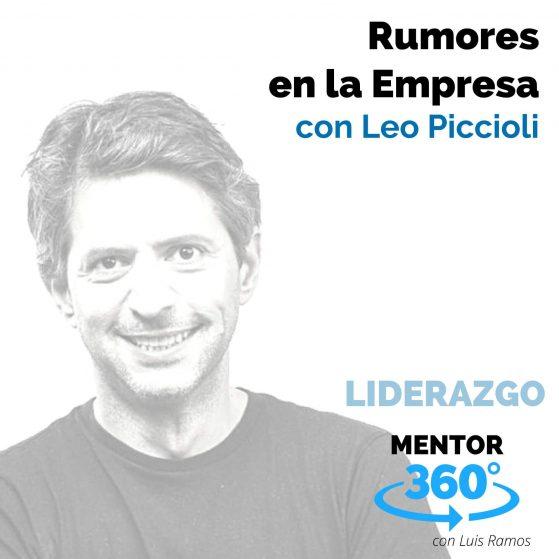 274 Rumores en la Empresa, con Leo Piccioli - MENTOR360