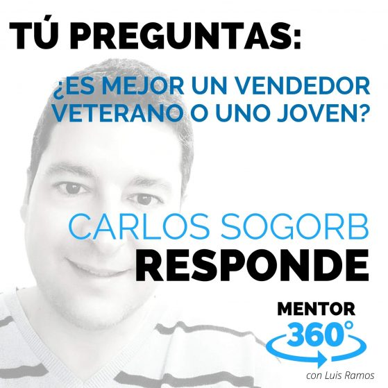 ¿Es Mejor un Vendedor Veterano o Uno Joven? - MENTOR360